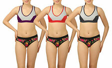 Yoga Gym Sports Bra Pack of 3
