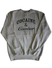 Crooks & Castles Cocaine & Caviar Sweatshirt Heather Grey