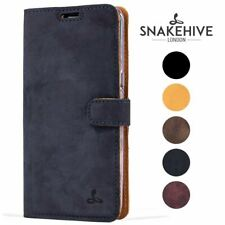 Snakehive® Samsung Galaxy S8 Plus Vintage Leather Wallet Phone Case w/Card Slots