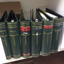 6 Used Scott Specialty Binders Three Ring - Used Condition with Some Wear