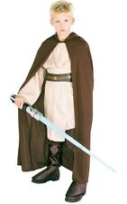 SALE! Kids STAR WARS Licensed Jedi Robe Boys Fancy Dress Costume Party Outfit