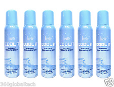 Insette Body & Face Cooling Mist Water Spray Beach Summer Travel Holiday Sun UK