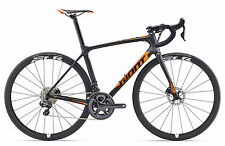 GIANT TCR Advanced Pro Disc m Ultegra Di2 Scheibenbremse Black Orange - Mod 2017