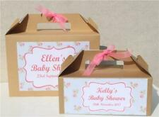 PERSONALISED GIFT BOX FAVOUR - Baby Shower Hen Party Floral Vintage Wedding