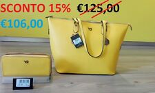 CITYDREAMBAG, Borsa donna Shopping in pelle, Made in Italy, Y NOT, con tracolla