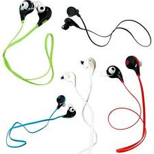 Cuffie bluetooth 4.0 auricolari corsa sport per Apple iPhone 7 4.7 Plus 5.5 QY7
