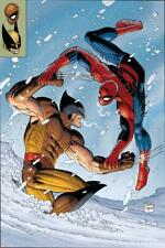 Poster What If? Spider-Man Vs. Wolverine No.1 Cover: Spider-Man and Wolverine de