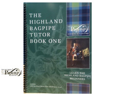College of Piping Tutor Book volume 1 Best Seller Learn to play Highland Bagpipe