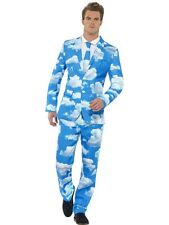 Adult Comedy Funny Sky High Stand Out Suit Mens Fancy Dress Stag Party Costume