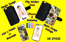 PERSONALISED CUSTOM PRINTED Xperia Flip Wallet Case Phone Cover Collage photo
