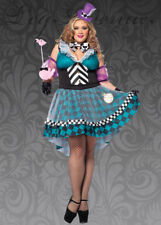 Womens Plus Size Mad Hatter Costume