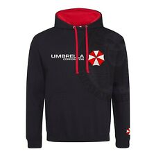 Resident Evil Umbrella Corporation EMBROIDERED PATCH Hoodie T Virus The Hive