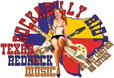 ROCKABILLY RIOT TEXAS REDNECK MUSIC T SHIRTS T-SHIRTS TOPS UK  BLUES ROCK & ROLL