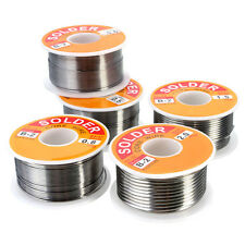 100g 63/37 Tin Lead Rosin Core 0.5-2mm 2% Flux Reel Welding Line Solder Wire