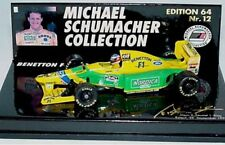 MINICHAMPS Michael Schumacher Collection BENETTON FORD F1 model cars 1:64th