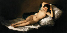 Photo/Affiche - Nu Maja La Maja Desnuda - Goya Francisco De 1746 1828