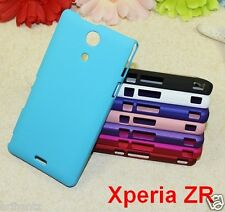 Premium Hard Back Shell Cover Case Matte For Sony Xperia ZR M36H