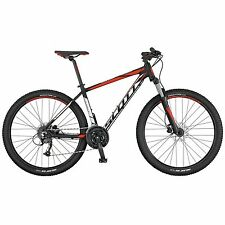 SCOTT Aspect 750 bici MTB front alluminio 24V nera-rossa mountain bike 2017