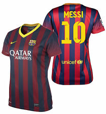 NIKE LIONEL MESSI FC BARCELONA WOMENS HOME JERSEY 2013/14.
