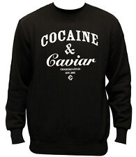 Crooks & Castles Cocaine & Caviar Sweatshirt Black