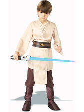 Boys Deluxe Jedi Knight Star Wars Fancy Dress Costume Child Outfit Skywalker