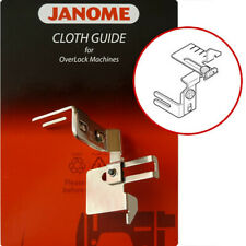 Janome Overlocker Cloth Guide helps keep fabric seams straight