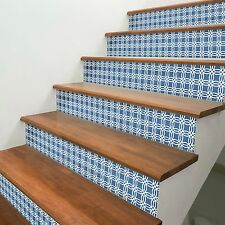 Stair Riser Stickers X7 Strips DIY Vinyl Decal Transfers Contemporary Pattern 1