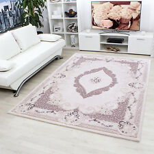 Design moderne en acrylique Tapis Salon ALPINA conception Oriental 5210 Damson N