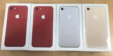 SEALED NEW APPLE iPHONE 7 256GB SILVER, GOLD,RED (limited Edition)