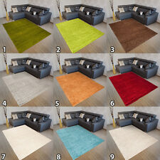 New Soft Shaggy THICK 5CM  Modern Rugs For Living Room Bedroom Different Colours