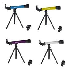 Set of Plastic Astronomical Telescope Playset Kids/Childs Toy Gift 40x 60x 80x