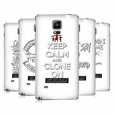 OFFICIAL ORPHAN BLACK TYPOGRAPHY REPLACEMENT BATTERY COVER FOR SAMSUNG PHONES 1