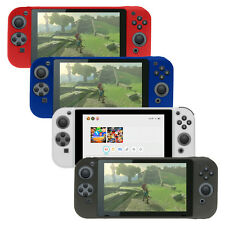 AMZER Soft Silicone Skin Jelly Case Back Gel Cover for Nintendo Switch Console
