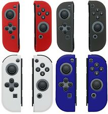 AMZER Soft Silicone Skin Jelly Case Back Gel Cover for Nintendo Switch Joy-Con