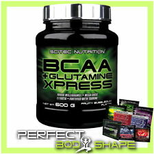 SCITEC BCAA + GLUTAMINE XPRESS 600G POWDER ESSENTIAL BRANCHED CHAIN AMINO ACIDS