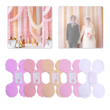 3.6m Tissue Paper Clovers Hanging Garland Wedding Birthday Party Home Decoration