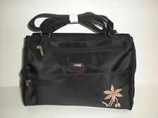Lorenz Handbag With 4 Front And 3 Central Compartments And Rear Zip Pocket (2112