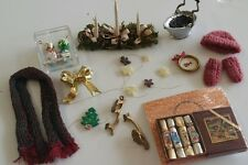 1 inch scale victorian dollhouse miniatures Christmas #1