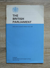 The British Parliament HMSO Pamphlet 33 1965