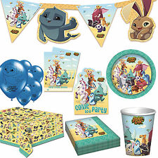 Animal Jam Children's Birthday Party Supplies Tableware Decoration Listing