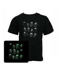 KIDS - Despicable me 3 MINIONS kids style GLOW in the DARK Movie boys T-shirt
