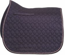 HySPEED Deluxe Saddle Pad with Cord Binding for Horses & Ponies 1752P