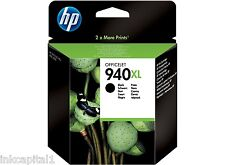 HP N 940XL NERO ORIGINALE OEM CARTUCCIA A GETTO di inchiostro C4906AE OFFICEJET