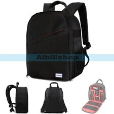 YINGNUOST Y75 DSLR Camera Carry Bag Waterproof Backpack For Canon Nikon Sony【UK】
