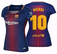 NIKE LIONEL MESSI FC BARCELONA WOMEN'S HOME JERSEY 2017/18.