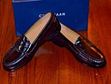 Cole Haan Men's Pinch Burgundy Leather Penny Loafers #03504