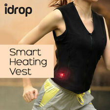 idrop Smart Heated Vest With Control Button or Apps with 5000 mAh Power Bank