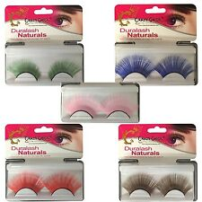 Womens Ladies Fake False Makeup Eyelashes Halloween Stag Hen Party Fancy Costume