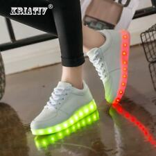 USB Charger Lighted shoes Boys Girls glowing sneakers Kids Light Up shoes led