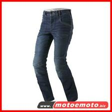 Jeans Moto scooter Rev'it Nelson Blue Medio  pantaloni con Protezioni Revit